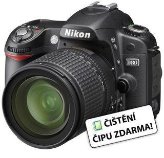 Nikon D80 + 18-135 AF-S DX + SD 4 GB class 6 karta zdarma!