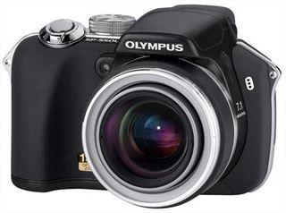 Olympus SP-550 černý ULTRA ZOOM + 2GB xD karta!