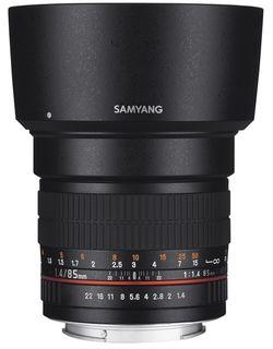 Samyang 85 mm f/1,4 pro Fuji X