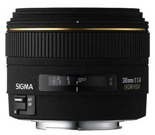 Sigma 30mm f/1,4 EX DC HSM pro Canon