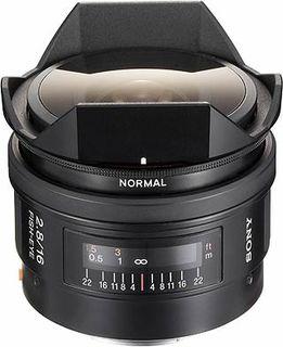 Sony 16 mm f/2,8 Fisheye