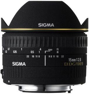 Sigma 15 mm f/2,8 EX DG DIAGONAL rybí oko pro Canon