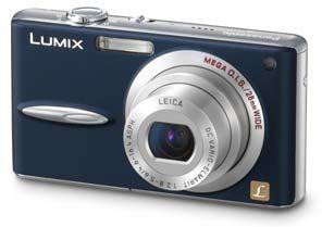 Panasonic DMC-FX30 modrý