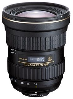 Tokina AT-X 14-20 mm f/2 Pro DX pro Nikon