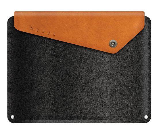 """Mujjo Sleeve pouzdro pro MacBook Pro 13"""" hnědé"""