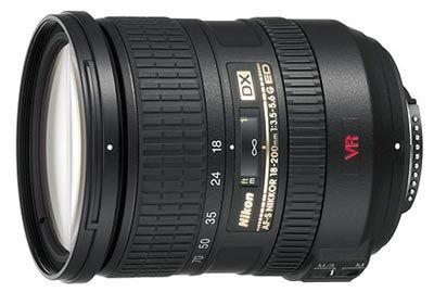 Nikon 18-200 mm F3,5-5,6G IF-ED DX VR