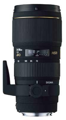 Sigma 70-200 mm F 2,8 EX DG MACRO HSM pro Canon