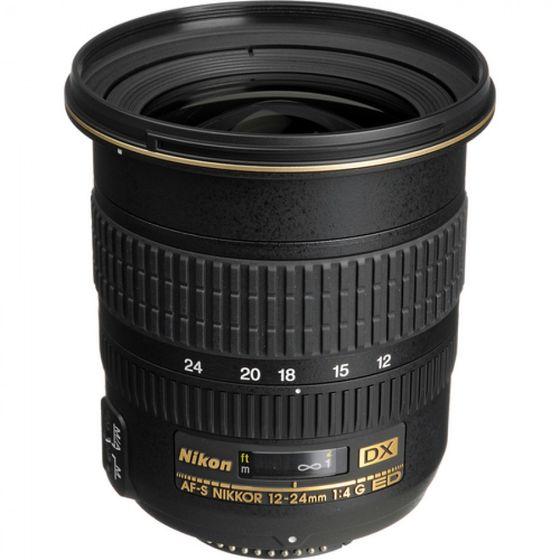 Nikon 12-24 mm f/4,0 G IF-ED AF-S DX ZOOM-NIKKOR s LC-77 / HB-23 / LF-1