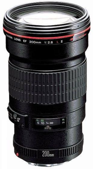 Canon EF 200mm f/2,8 II L USM Set
