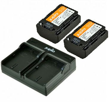 Jupio Kit 2x NP-FZ100 + USB Dual Charger pro Sony