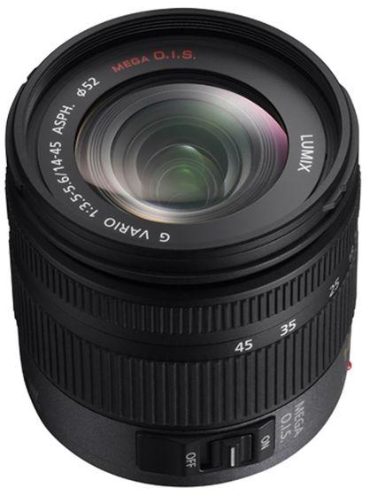 Panasonic Lumix G Vario 14-45mm f/3,5-5,6 ASPH. MEGA O.I.S.