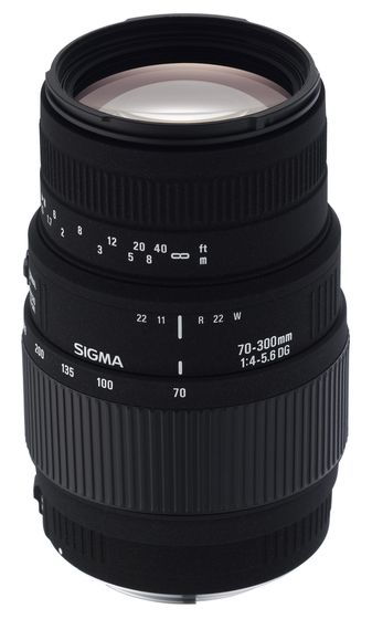 Sigma 70-300mm f/4,0-5,6 DG MACRO pro Sony