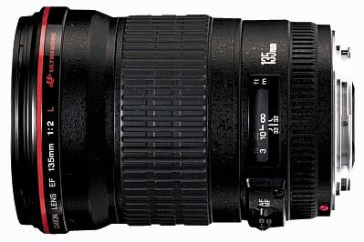 Canon EF 135mm f/2.0L USM a Extender EF 1.4x II