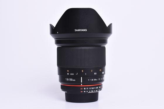 Samyang 20mm f/1,8 ED AS UMC pro Nikon F bazar