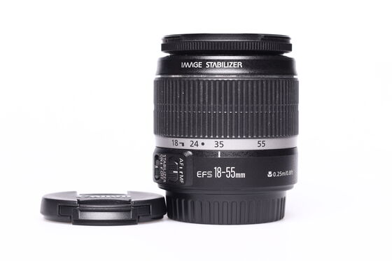 Canon EF-S 18-55 mm F 3,5-5,6 IS bazar