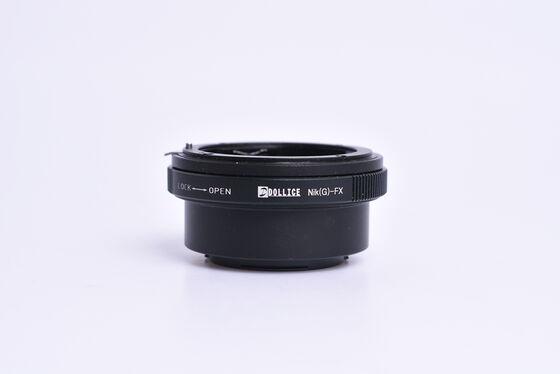 Dollice adaptér z Nikon G na Fujifilm X bazar