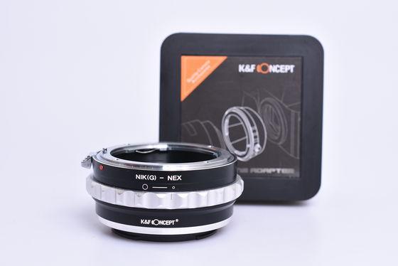 K&F adaptér z Nikon G na Sony E bazar