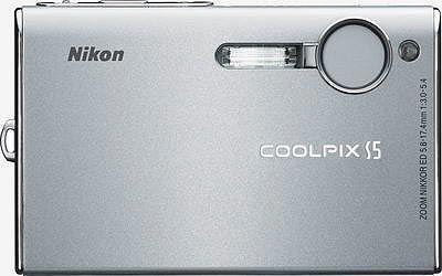 Nikon Coolpix S5 stříbrný