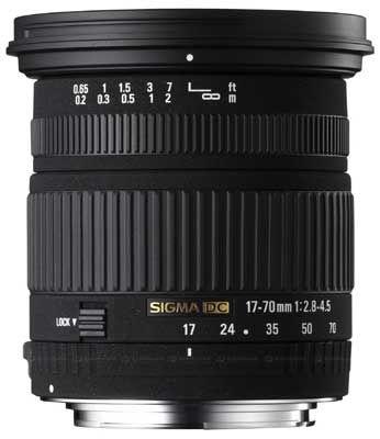 Sigma 17-70 mm f/2,8-4,5 DC Macro pro Canon + utěrka Sigma zdarma!