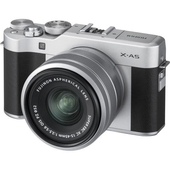 Fujifilm X-A5S + 15-45 mm stříbrný