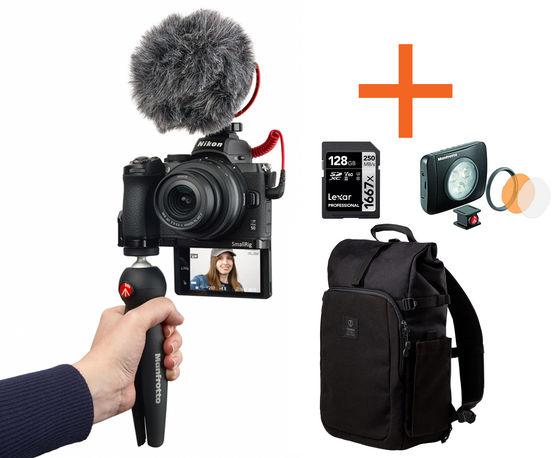 Nikon Z50 VLOGGER KIT Neváhej a toč!