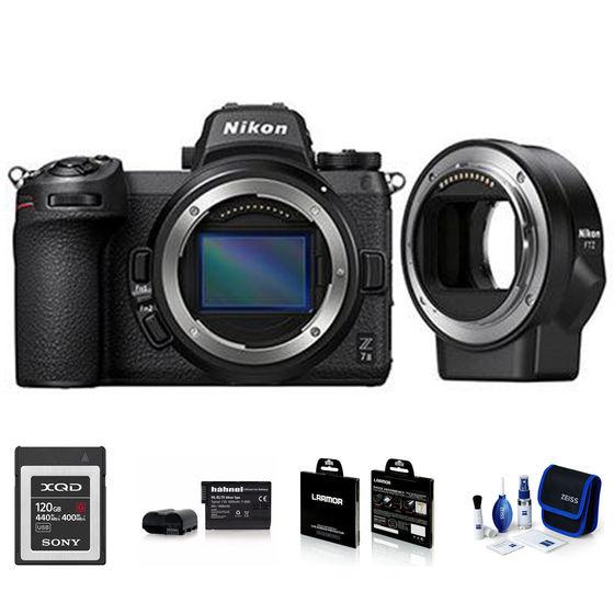 Nikon Z7 II + FTZ adaptér - Foto kit