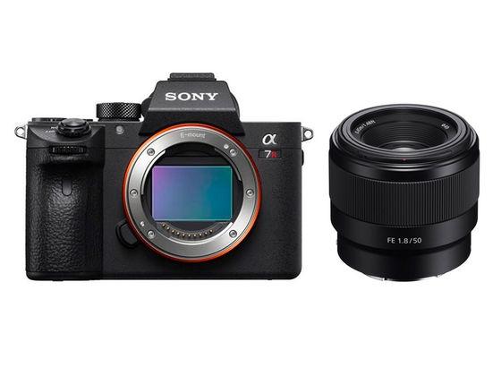 Sony Alpha A7R III +  FE 50 mm f/1,8