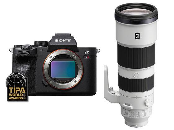 Sony Alpha A7R IV +  FE 200-600 mm f/5,6-6,3 G OSS