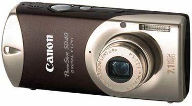 Canon Digital IXUS i7 hnědý