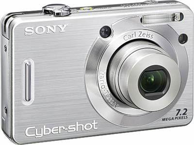Sony DSC-W55 stříbrný