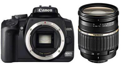 Canon EOS 400D + Tamron AF SP 17-50 mm F 2,8