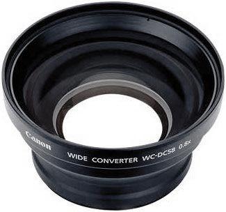 Canon širokoúhlá předsádka WC-DC58