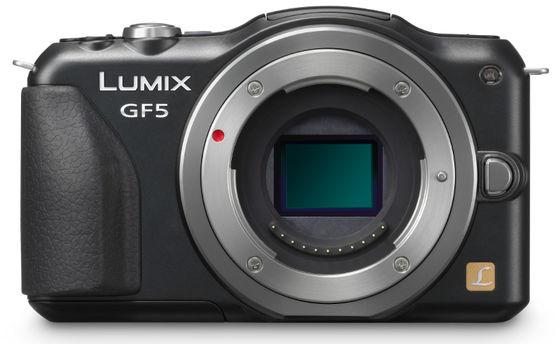 Panasonic Lumix DMC-GF5 tělo