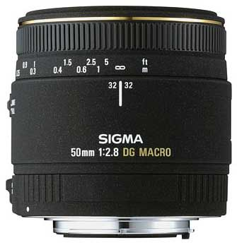 Sigma 50 mm F 2,8 EX DG MACRO pro Sigma + utěrka Sigma zdarma!