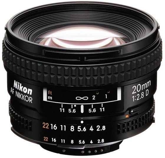 Nikon 20 mm f/2,8 AF NIKKOR D A