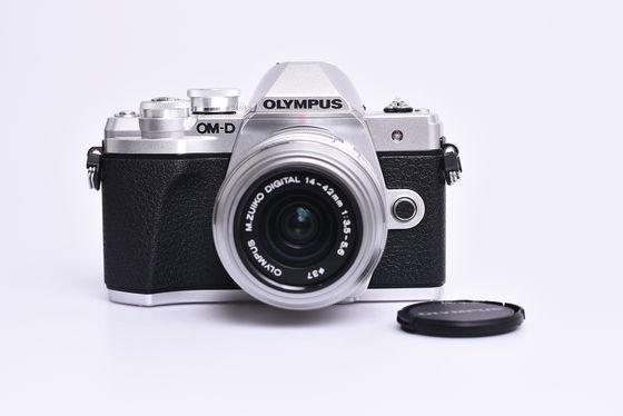 Olympus OM-D E-M10 Mark III + 14-42 mm II R stříbrný bazar