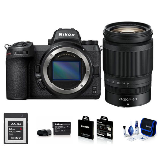Nikon Z6 II + 24-200 mm - Foto kit