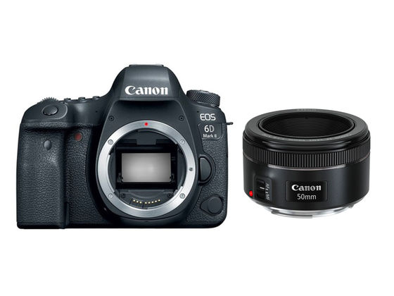 Canon EOS 6D Mark II + Canon EF 50 mm f/1,8 STM