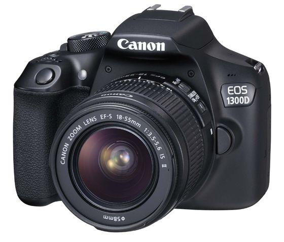 Canon EOS 1300D + 18-55 mm DC III + originální brašna + 8GB Ultra karta + čisticí utěrka!