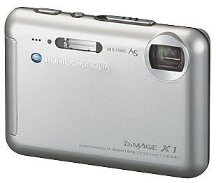 Konica Minolta DiMAGE X1 stříbrná + SD 256MB karta zdarma!!!