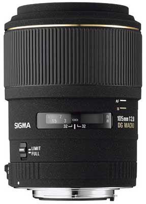Sigma 105mm F 2,8 EX DG MACRO pro Sony + utěrka Sigma zdarma!