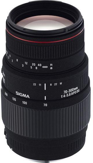 Sigma 70-300mm f/4,0-5,6 APO DG MACRO pro Canon