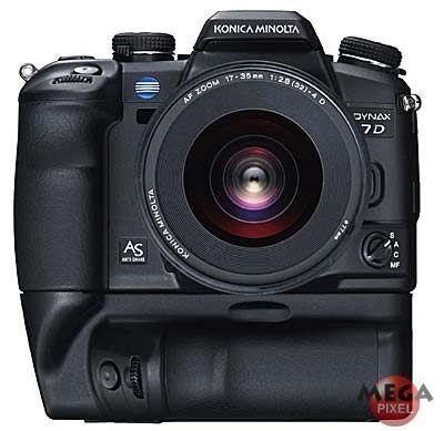Konica Minolta Dynax 7D + AF 17-35 /F2,8-4,0(D) + VC-7D battery grip