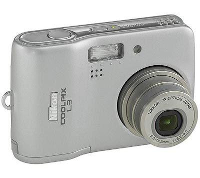 Nikon Coolpix L3 stříbrný