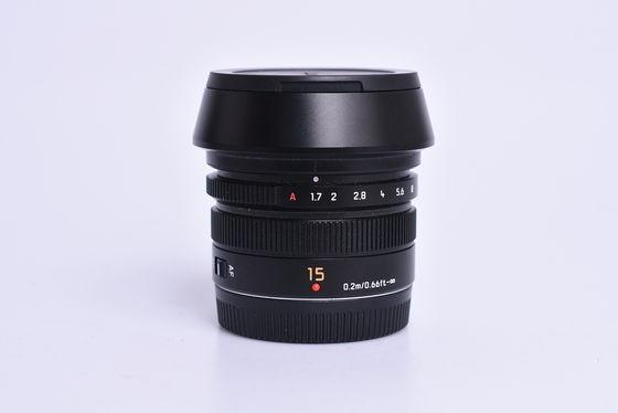 Panasonic Leica Summilux 15mm f/1,7 ASPH. bazar