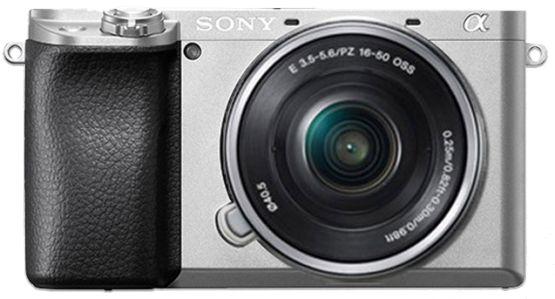 Sony Alpha A6100 + 16-50 mm stříbrný