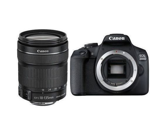 Canon EOS 2000D + 18-135 mm IS STM