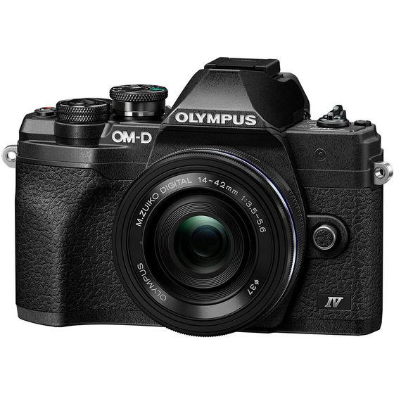 Olympus OM-D E-M10 Mark IV + 14-42 mm EZ černý