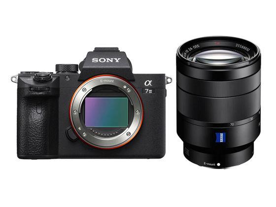 Sony Alpha A7 III + FE 24-70 mm f/4,0 ZA OSS