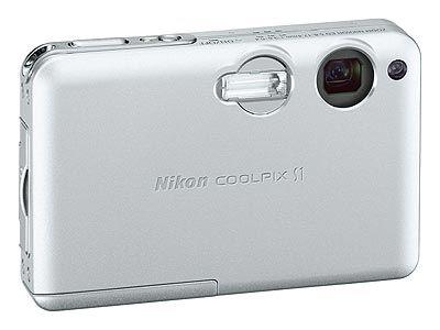 Nikon CoolPix S1 stříbrný